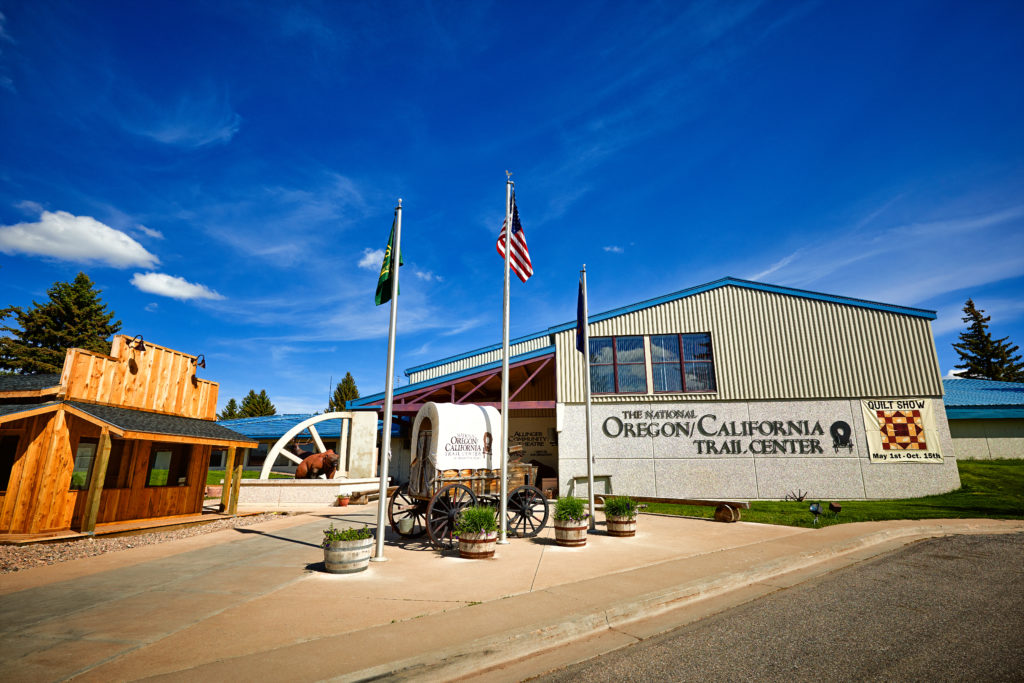 The National Oregon/California Trail Center; credit Idaho Tourism