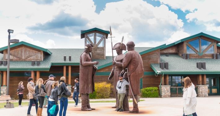 Lewis and Clark Interpretive Center; Credit North Dakota Tourism
